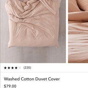 Full/queen size duvet cover/sham set
